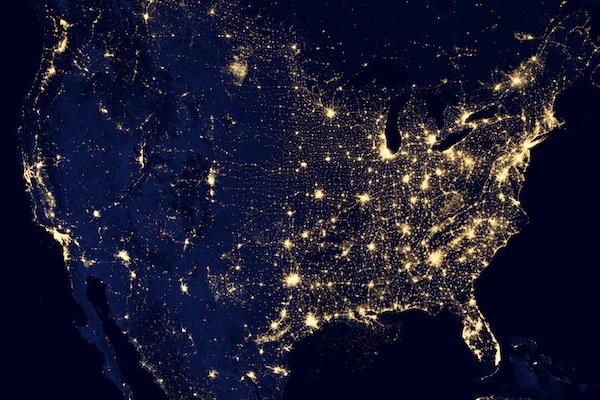 fényszennyezés térkép Mennyire durva a fényszennyezés ott, ahol éppen vagy? fényszennyezés térkép